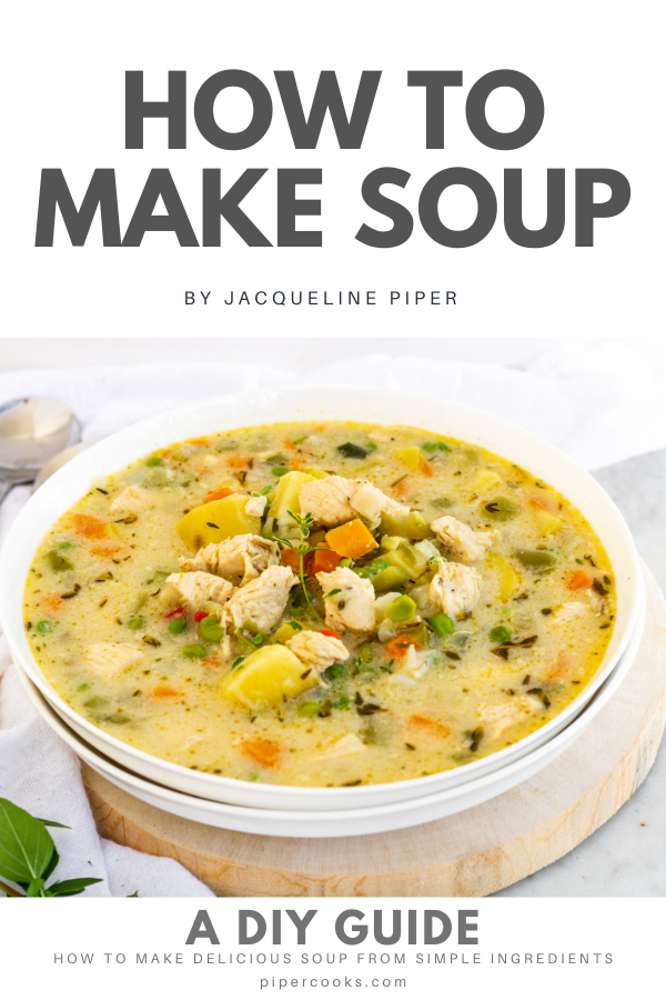 How to Make Soup eBook Cover